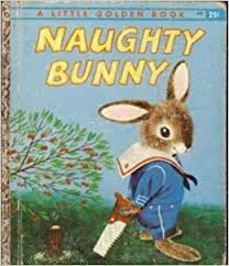 richard scarry&#39s naughty bunny book