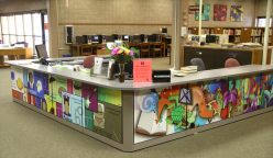 Lovelace Wing reference desk